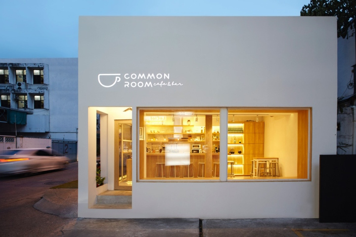 曼谷Common room咖啡店设计