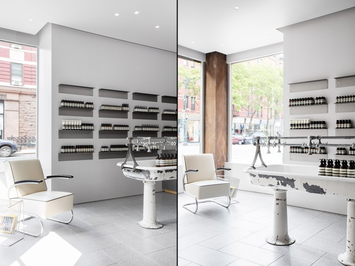 Aesop Store By Tacklebox Architecture New York City Retail Design Blog