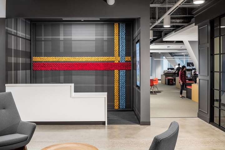 Bunny A Wells Enterprises Company Located In Minneapolis Minnesota NELSON Was Commissioned By Blue To Provide Interior Design Services