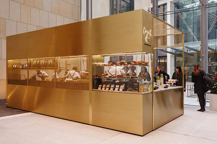 b16c777d8 café   tea house kiosk mesh spaces store design
