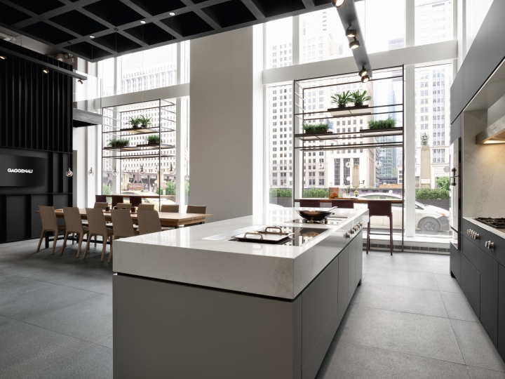 Gaggenau Showroom By Einszu33 Chicago Illinois Retail Design Blog