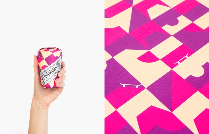 Image result for gorky park ice cream design packaging