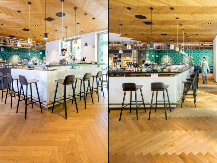 Responsible For The Concept Interior And Graphic Design Of Restaurant Hotel Lobby Is Amsterdam Based Studio Concrete