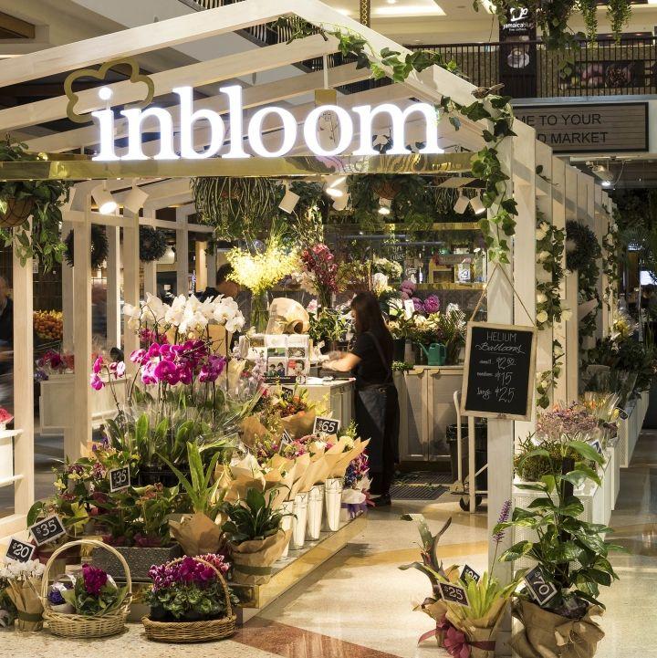 Inbloom flower kiosk by Span Design, Burwood – Australia
