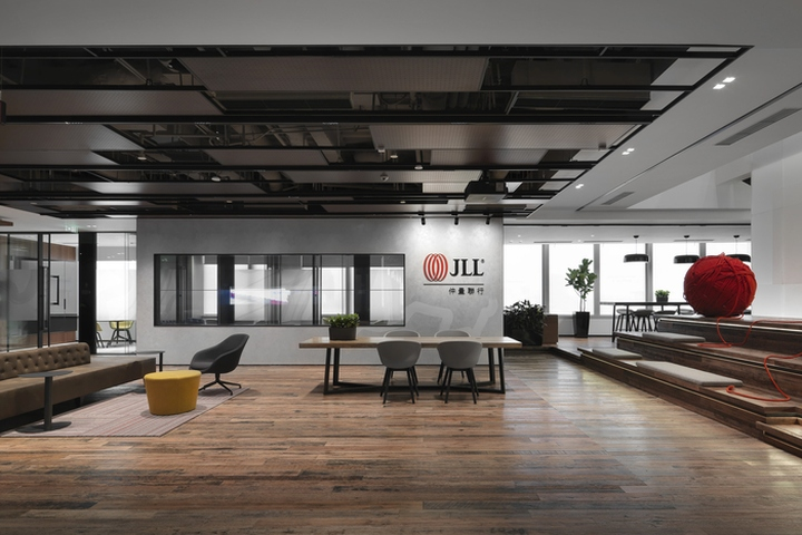 187 Jll Office By Ida Workplace Strategy Shanghai China