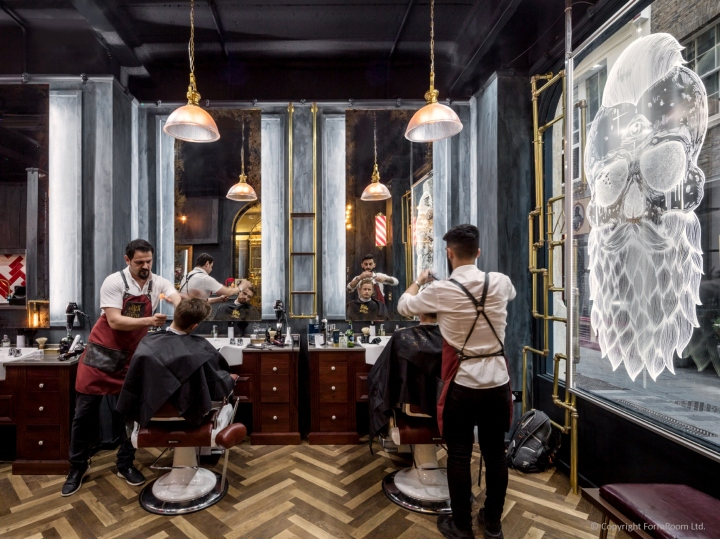 187 Jack The Clipper Flagship Barbershop By Formroom London