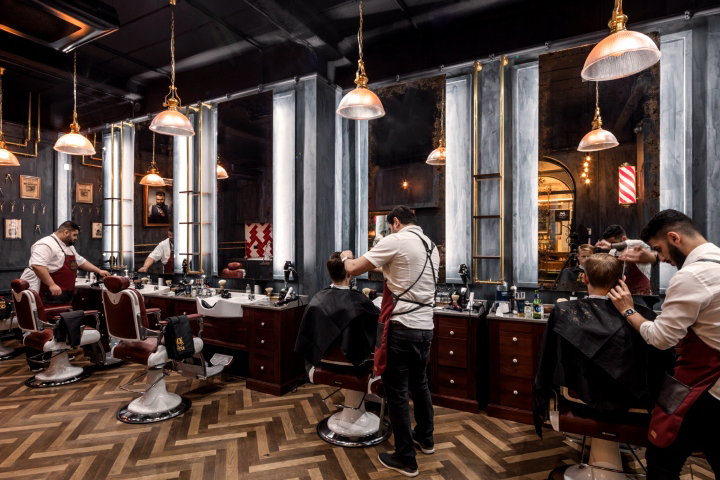 Jack The Clipper Flagship Barbershop By FormRoom London