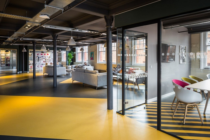 love creative offices by studio n o manchester uk retail