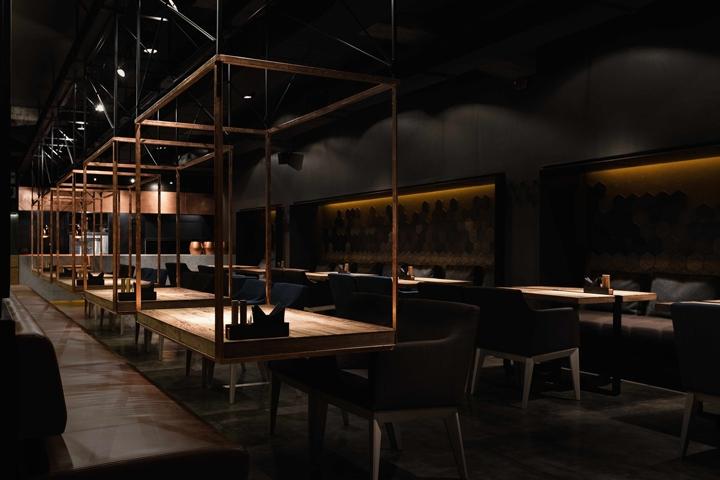 "Meat restaurant ""sazha by yod design lab sums ka"