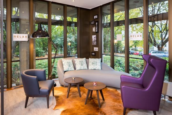 Mercure hotel bar dortmund by kitzig interior design for Hotel grey dortmund