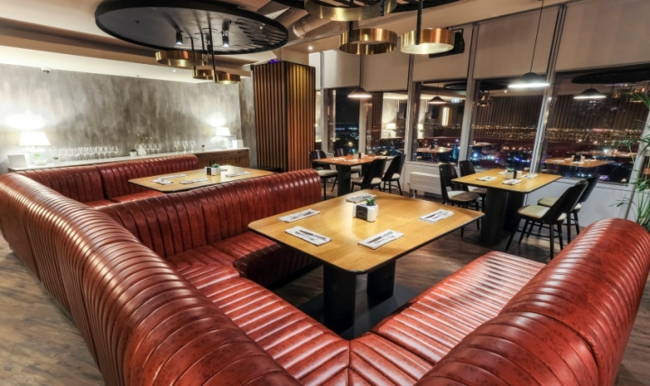 187 Nor Sky Casual Restaurant By Picktwo Bucharest Romania