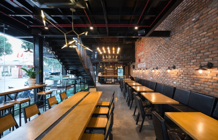 nh h ng crabsark crawfish restaurant by tnt architects vinh nghe an vietnam retail. Black Bedroom Furniture Sets. Home Design Ideas