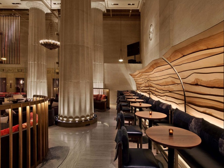 Nobu downtown restaurant by rockwell group new york city