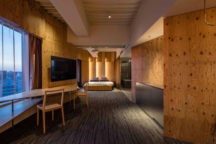 One tokyo hotel by kengo kuma sumida tokyo japan for Design hotel tokyo