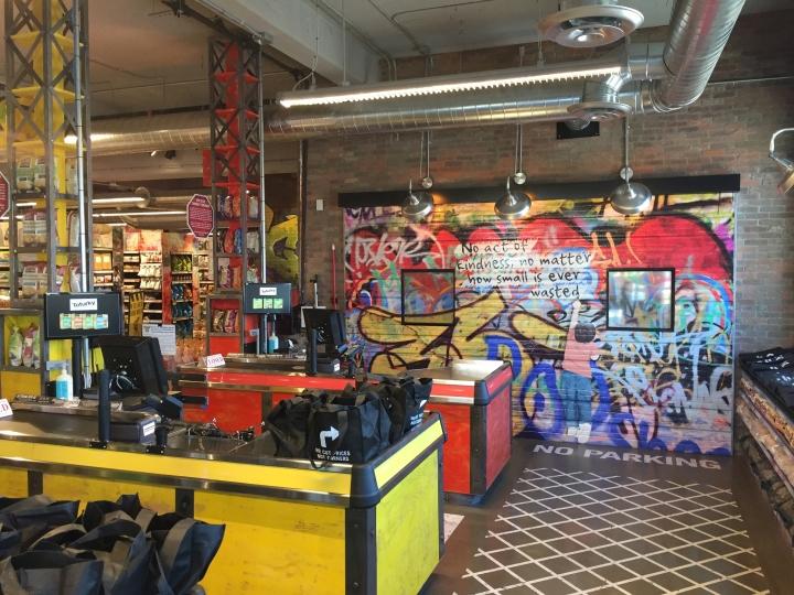 Organic garage flagship store by api toronto canada