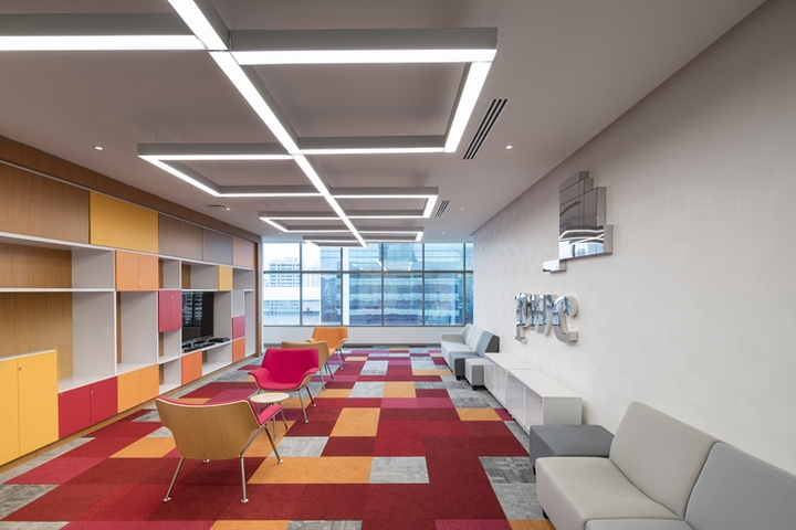 Pwc offices by aei arquitectura e interiores panama for Arquitectura design interiores