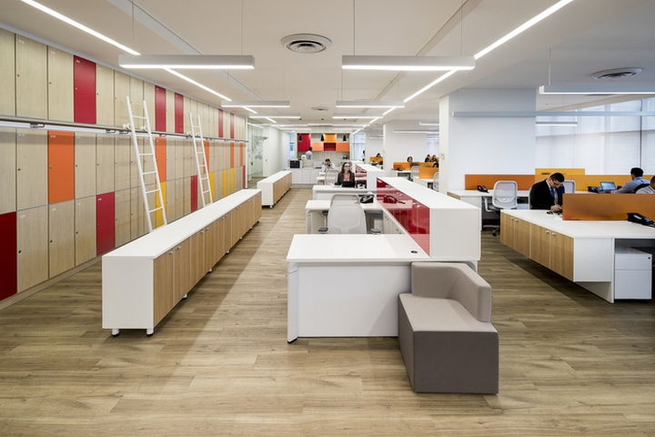 Pwc offices by aei arquitectura e interiores panama city for Interior oficina