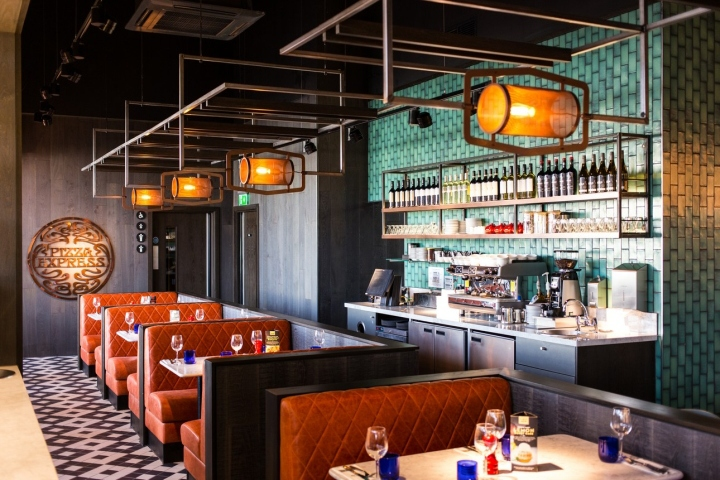 Pizza Express The Moor By Creed Design Sheffield England
