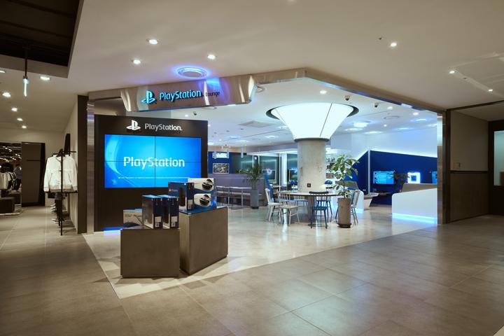 Sony Playstation Lounge By Studio Ima Seoul South Korea