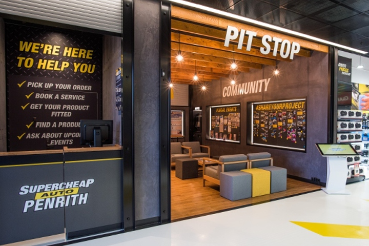Supercheap Auto Flagship Store By McCartney Design Penrith Australia