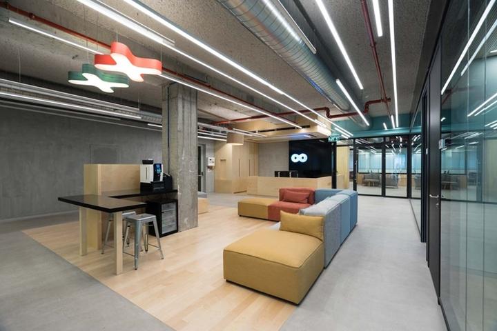 1209bbda25 Team 8 Office by Kedem Shinar Architecture   Design and Skorka Architects