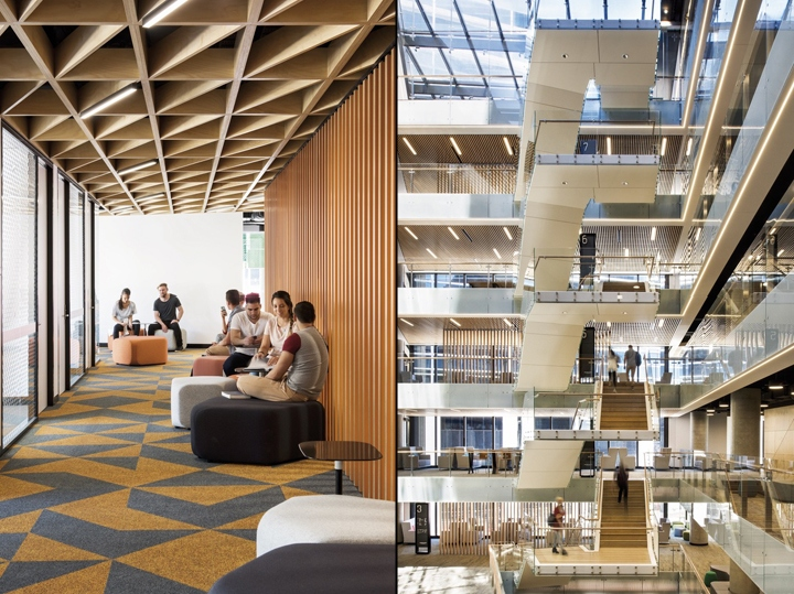 By Embracing Principles Of Open And Moving Away From The Traditional Cellular Office Model WSU Staff Are Invited To Co Mingle With Students Breaking Down