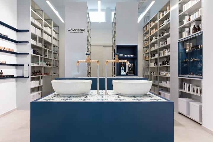 德国Woodberg美容用品店设计