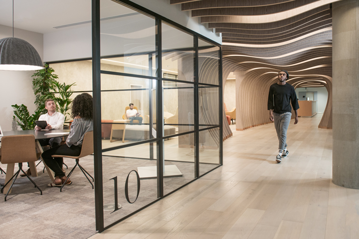 Yoox net a porter tech hub by grimshaw london uk for Yoox design