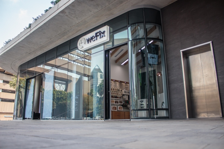Wefix alice lane store by whaam concepts johannesburg for Arredamenti pentagono