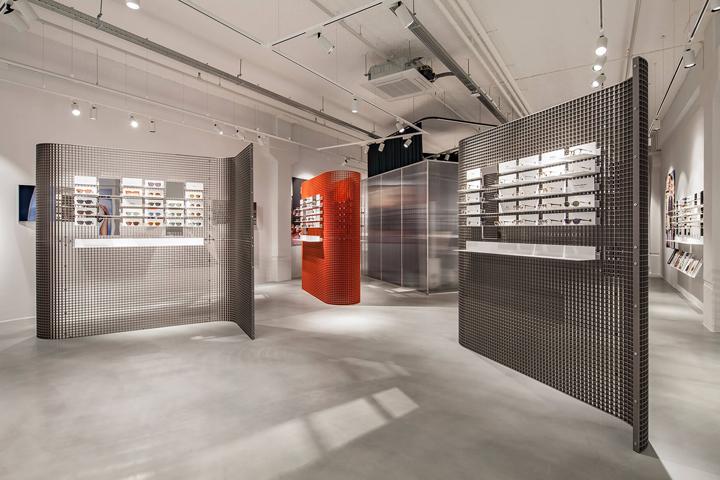 荷兰Ace & Tate 眼镜店设计