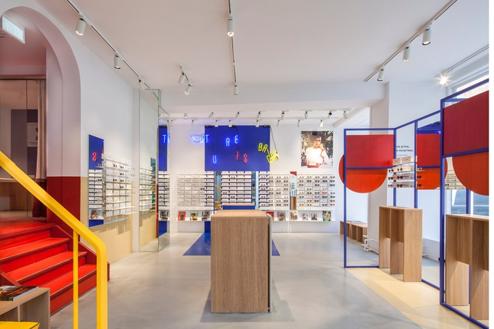 Ace Tate Eyewear Store By Spacon X Copenhagen Denmark