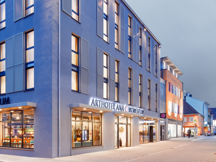 arthotel ana momentum by dfrost g ppingen germany. Black Bedroom Furniture Sets. Home Design Ideas