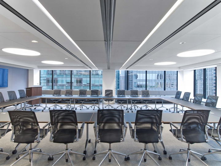 Asset management firm offices by tpg architecture new for New york architecture firms