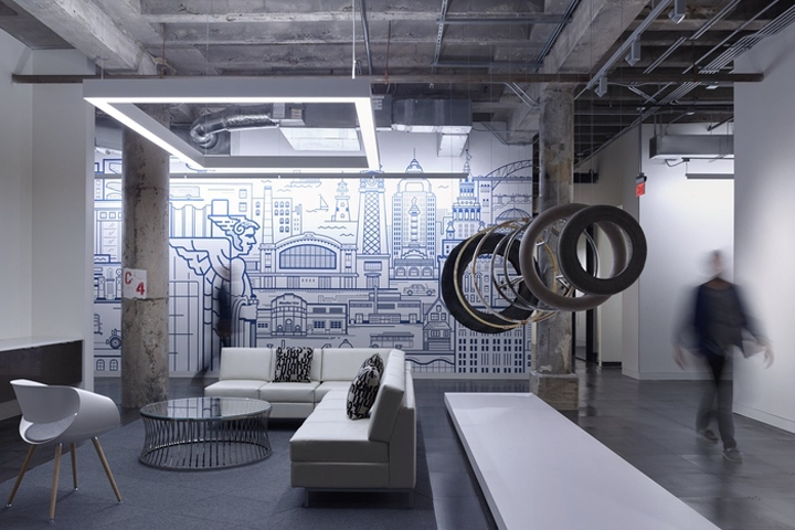 Vocon Designed The New Offices Of Tire Distribution Company Dealer Tire,  Located In Cleveland, Ohio. Family Owned Dealer Tire, One Of The Largest ...
