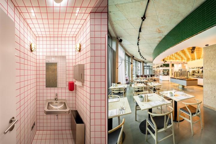 die gute botschaft restaurant by hamburg germany. Black Bedroom Furniture Sets. Home Design Ideas
