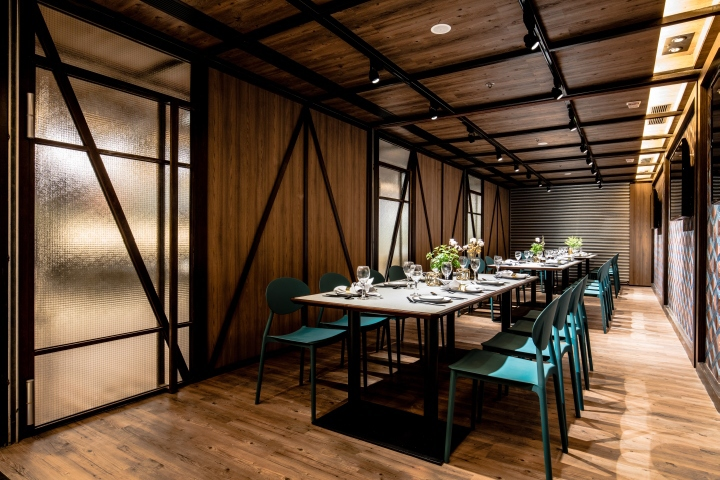 eat ease restaurant by artta concept studio kwai chung hong kong retail design blog. Black Bedroom Furniture Sets. Home Design Ideas