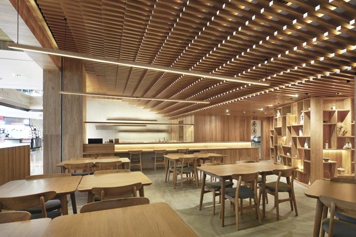 Ginshariya restaurant by tsutsumi associates shanghai china retail design blog - Restaurant design ...
