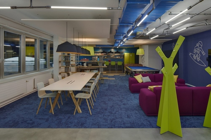 Offconsult AG Designed The New Coworking Spaces Of Office LAB Located In Zurich Switzerland 2017 Opened Its Offices At