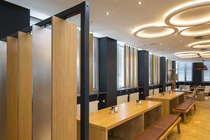 paulaner brewery headquarter by kitzig interior design