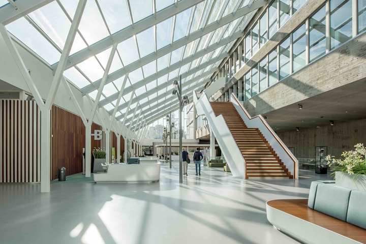Radboud University Dental Sciences Building By Inbo Nijmegen The Netherlands