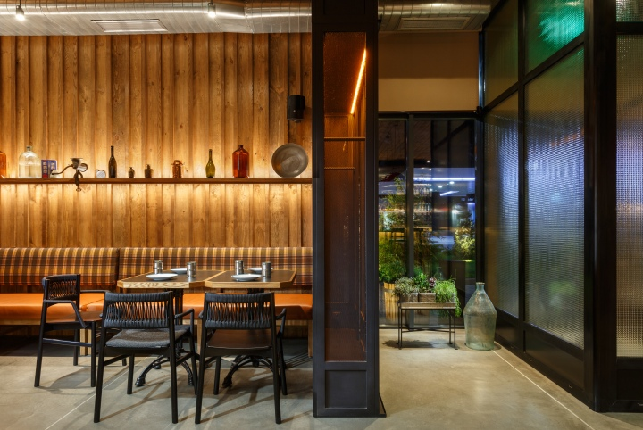 187 Roadhouse Restaurant By Circle Line Interior Dnipro