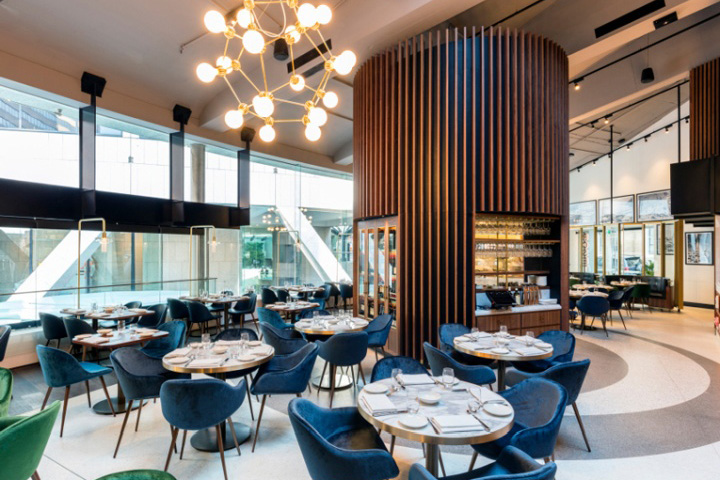 rosetta restaurant sydney australia retail design blog