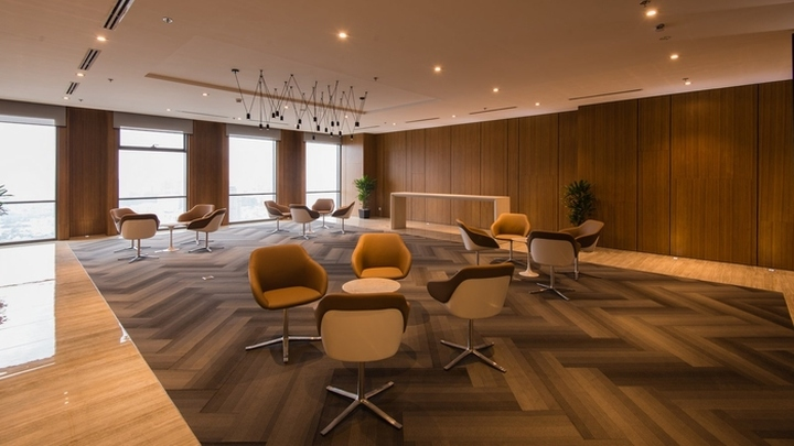 Ssg office by adp architects ho chi minh city vietnam for Office design vietnam