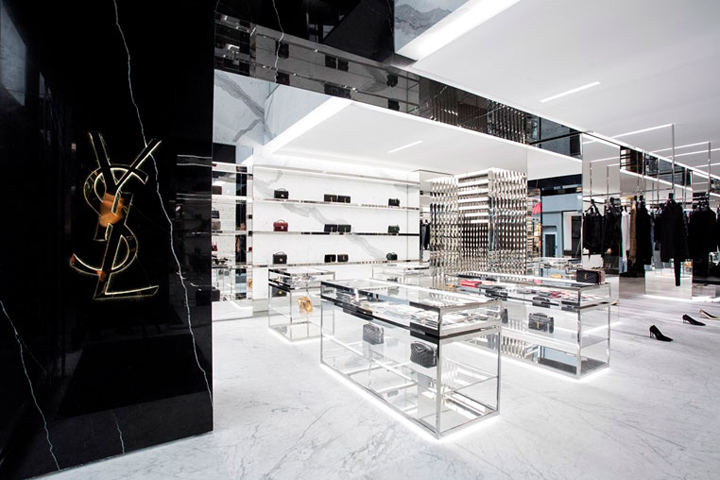 187 Saint Laurent Store By Anthony Vaccarello Oslo Norway