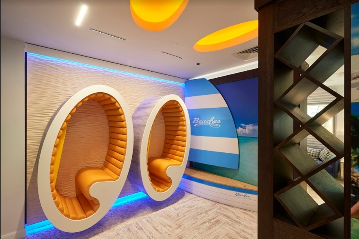 Sandals luxury travel store by wanda creative london uk for Retail design agency london
