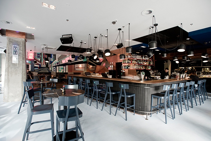 Tokio Sushi Bar And Restaurant By Studio Arkitekter