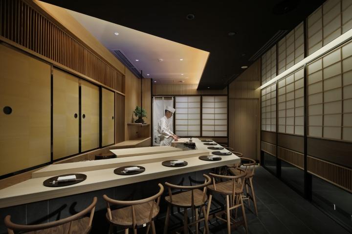 Tsukiji Suzutomi Restaurant By Gate Interior Design Office