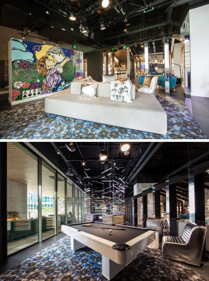W bellevue hotel by hks inc seattle usa retail for Design hotel usa