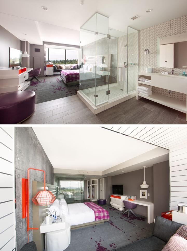 W Bellevue Hotel by HKS Inc., Seattle – USA