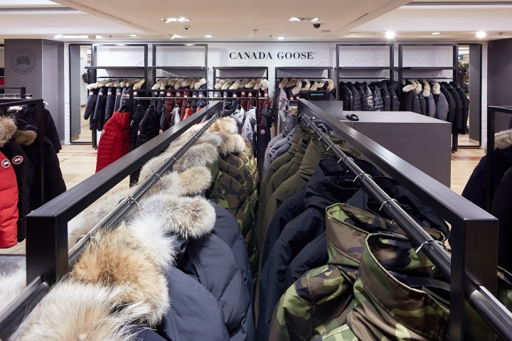 canada goose shops london